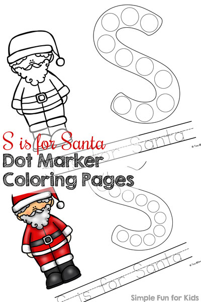 Marker clipart coloring These S your Santa Santa