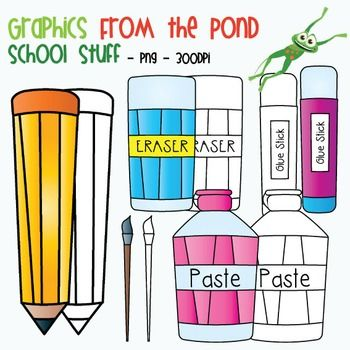 Marker clipart free school supply #13