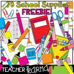 Marker clipart free school supply #11