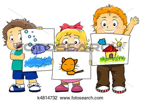 Marker clipart kid artwork BBCpersian7 k4814732 collections Clipart Illustration