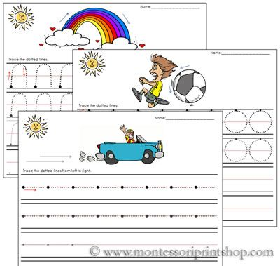 Marker clipart montessori A child Erase MarkersMontessori images
