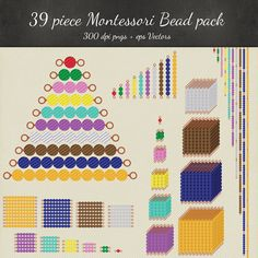 Marker clipart montessori Designs 39 Download and