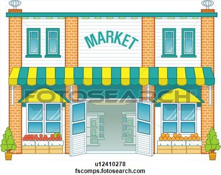 Market clipart #12