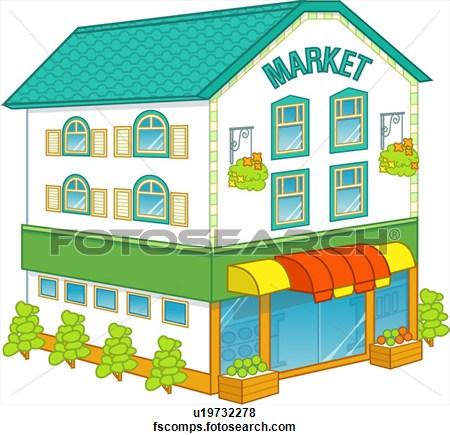 Market clipart #1