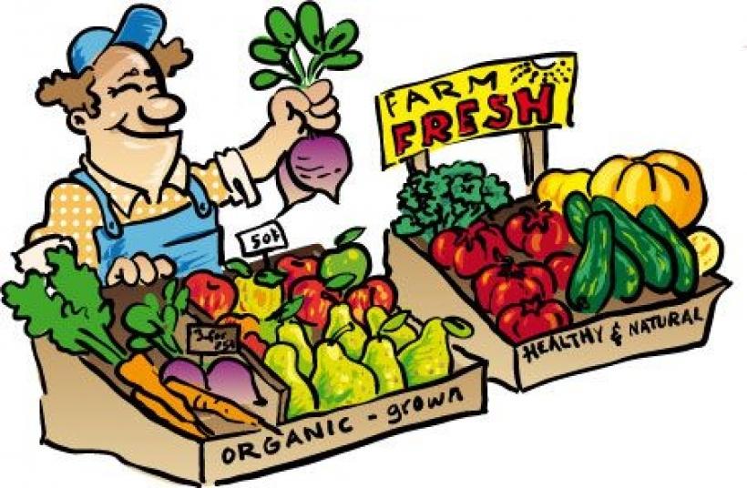 Market clipart fruit market Shop farmers people clip project