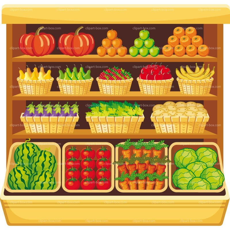 Market clipart fruit market Art clipart fruit Market grocery