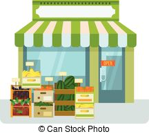 Market clipart fruits and vegetable Fruit  shop Fruit stall