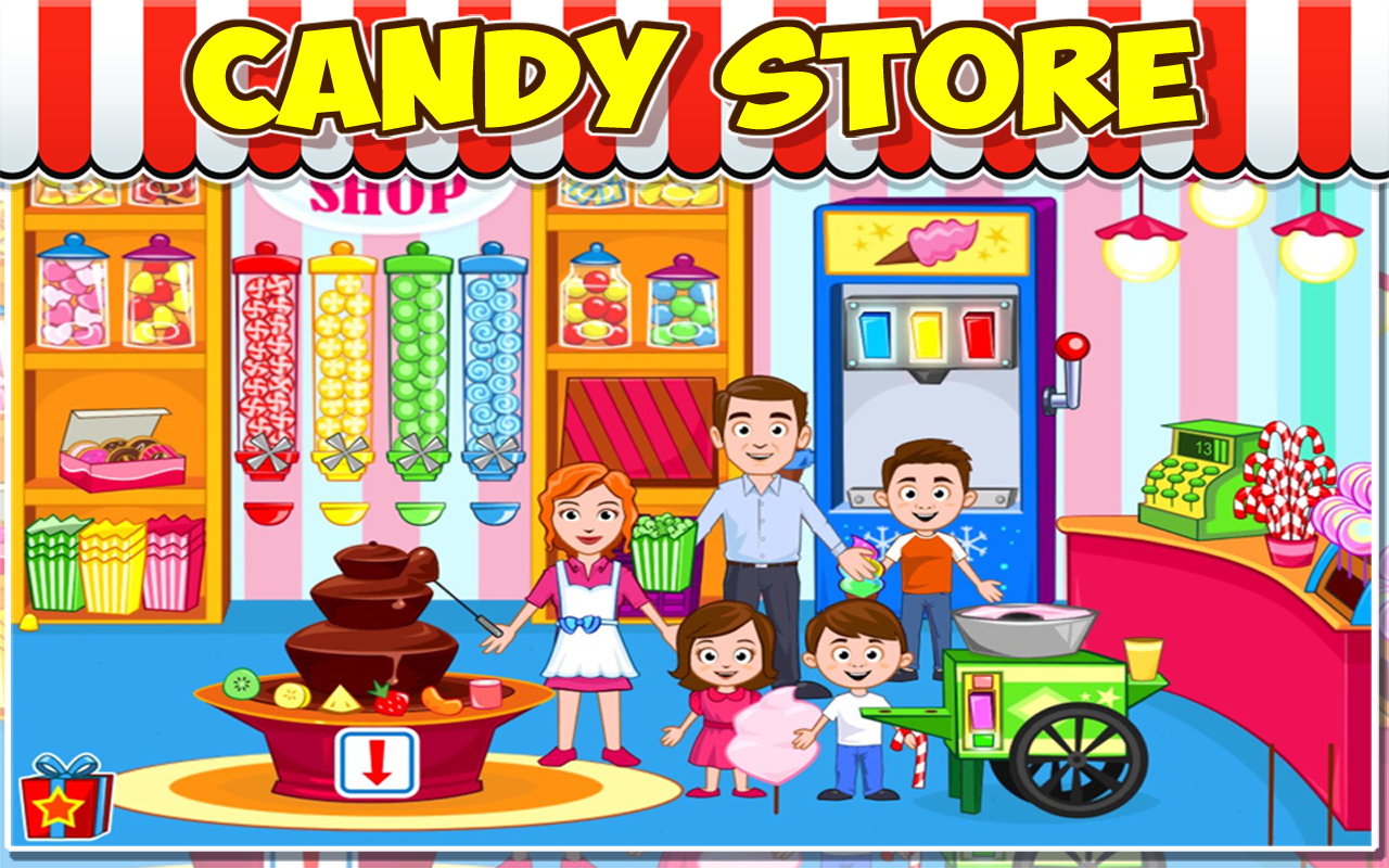 Market clipart vegitable : Android Apps screenshot Town