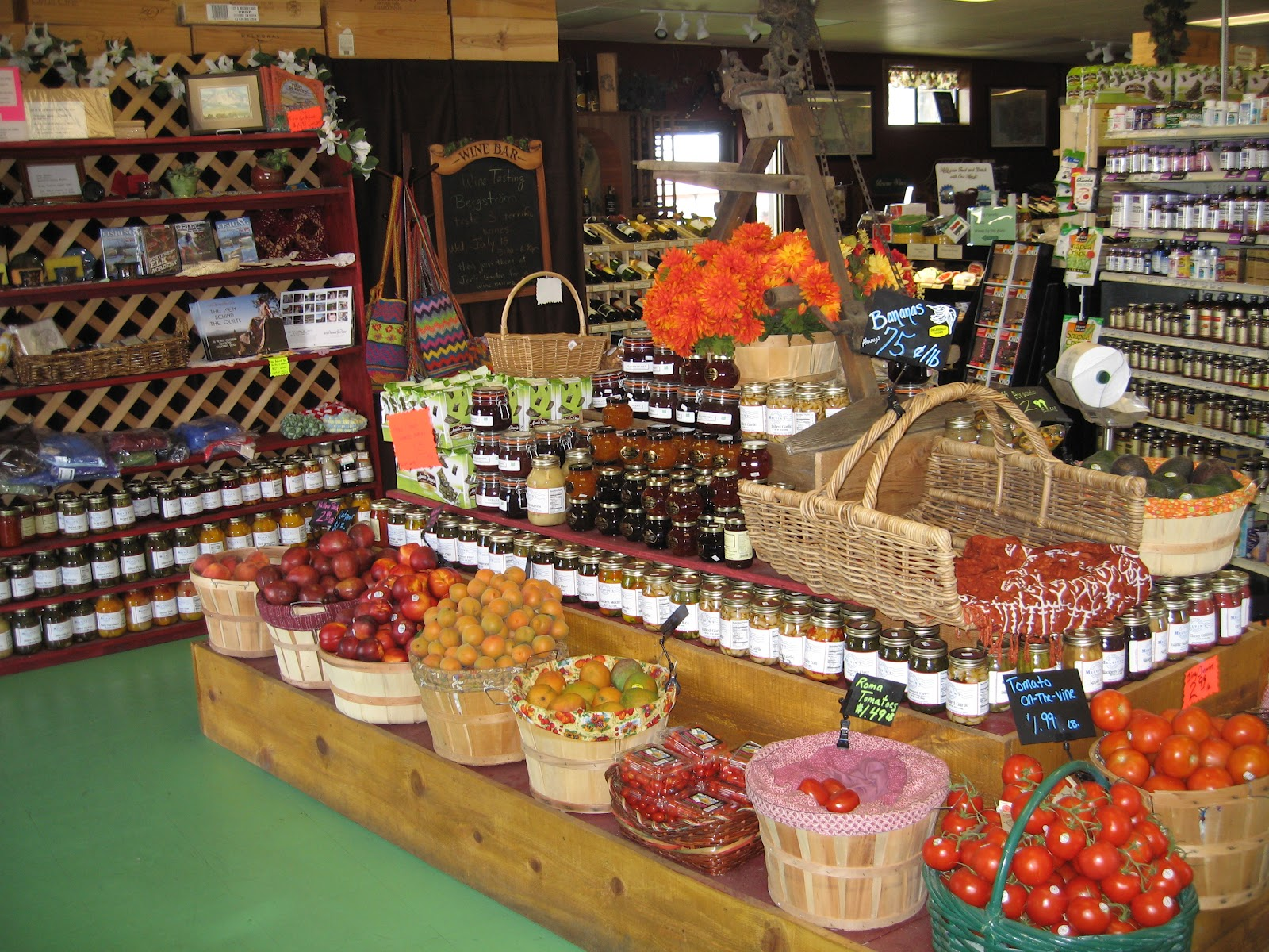 Market clipart organic food Organic Health Sisters Health Sisters