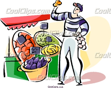 Market clipart outdoor market French Clipart Panda Free Clipart