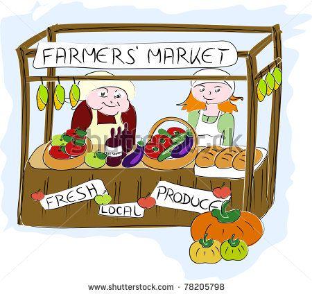 Market clipart outdoor market Pinterest 253 And Market (Art
