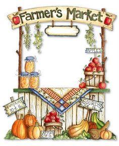 Market clipart outdoor market Free! Pin Buy Farmers' Market