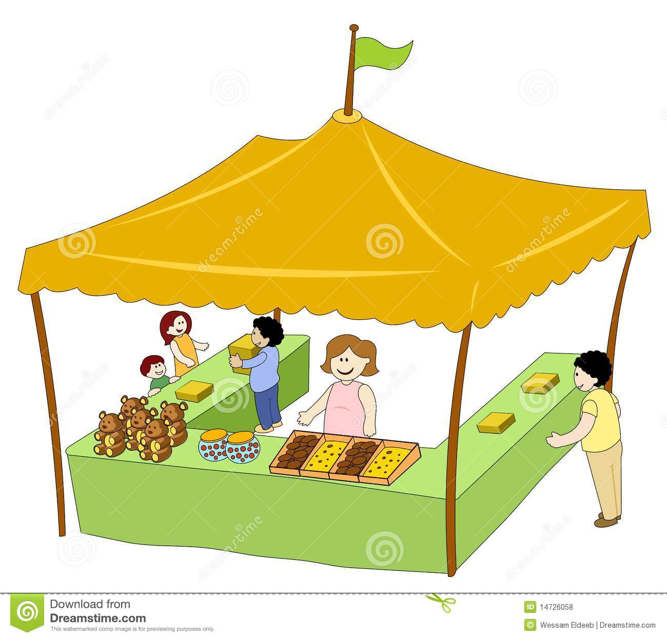 Tent clipart carnival booth Clipart Clip booth%20clipart Panda Free