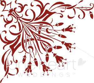 Maroon clipart Clipart for ) ( Bouquet