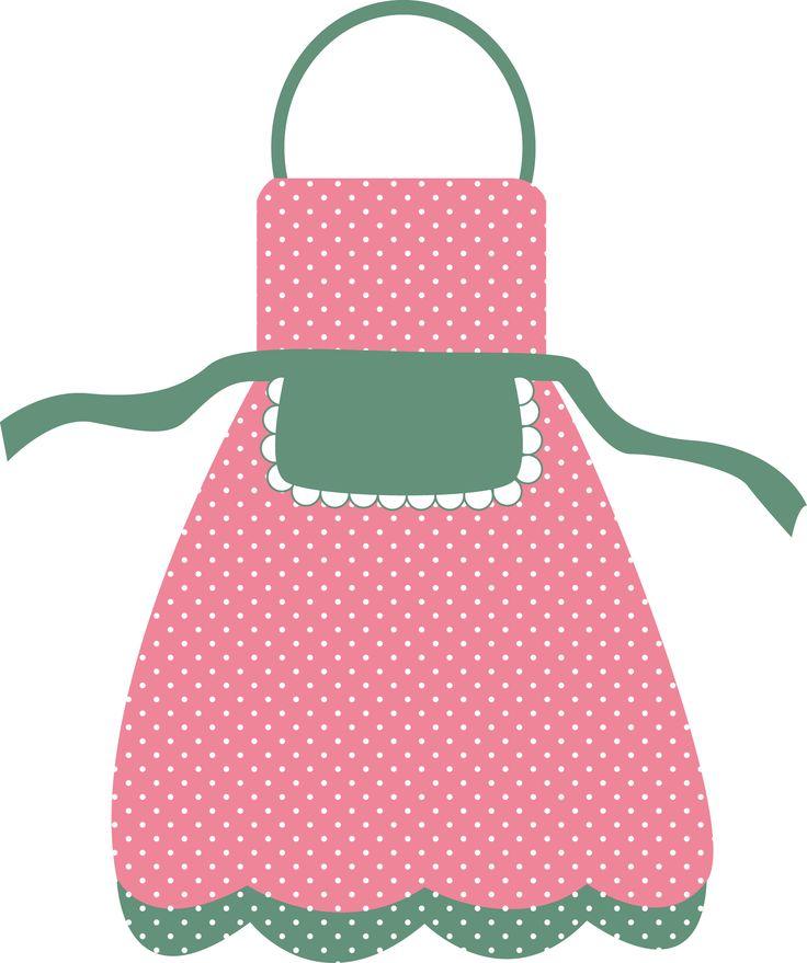 Frosting clipart pink apron 78 @danimfalcao about Pinterest kitchen