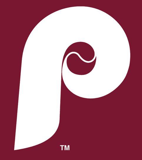Maroon clipart baseball Images Logo Phillies (1970) white
