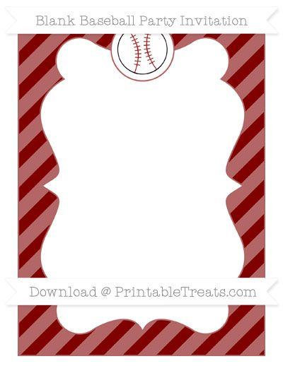 Maroon clipart baseball Food Blank Diagonal Baseball 996