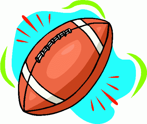 Football clipart cute Art  Clip Free Football