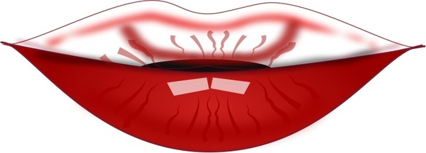 Maroon clipart lips Free commercial netalloy by use