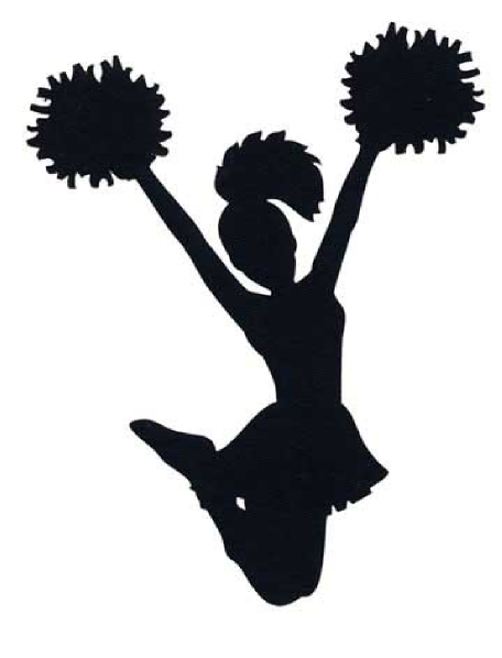 Club clipart pompom Poms and cheerleading  Metallic
