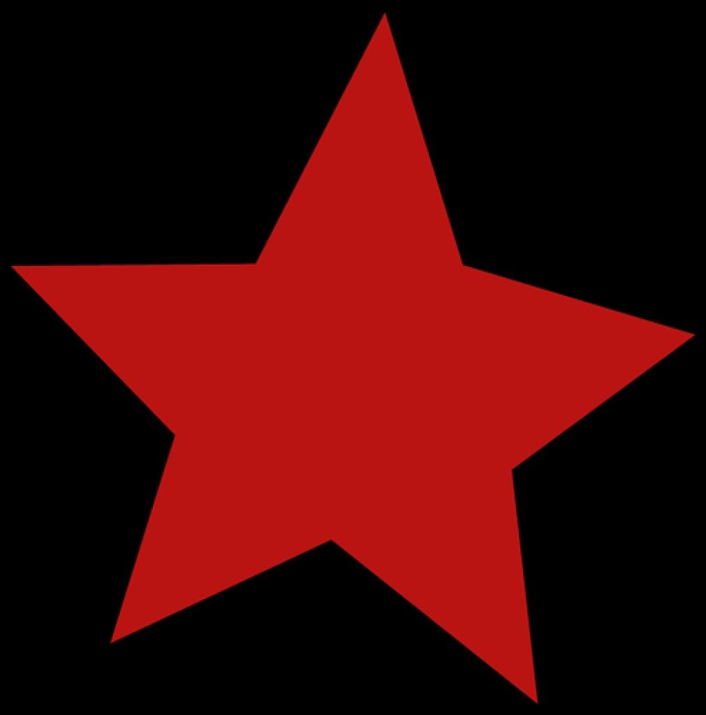 Maroon clipart star Star start art clip red