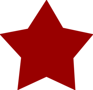 Maroon clipart star Clip online  at Star