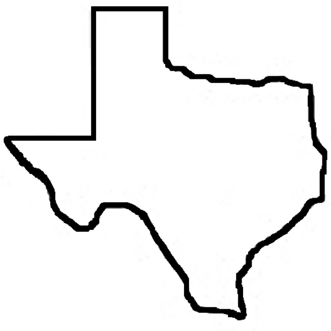 Maroon clipart texas Collection symbols Texas Art star
