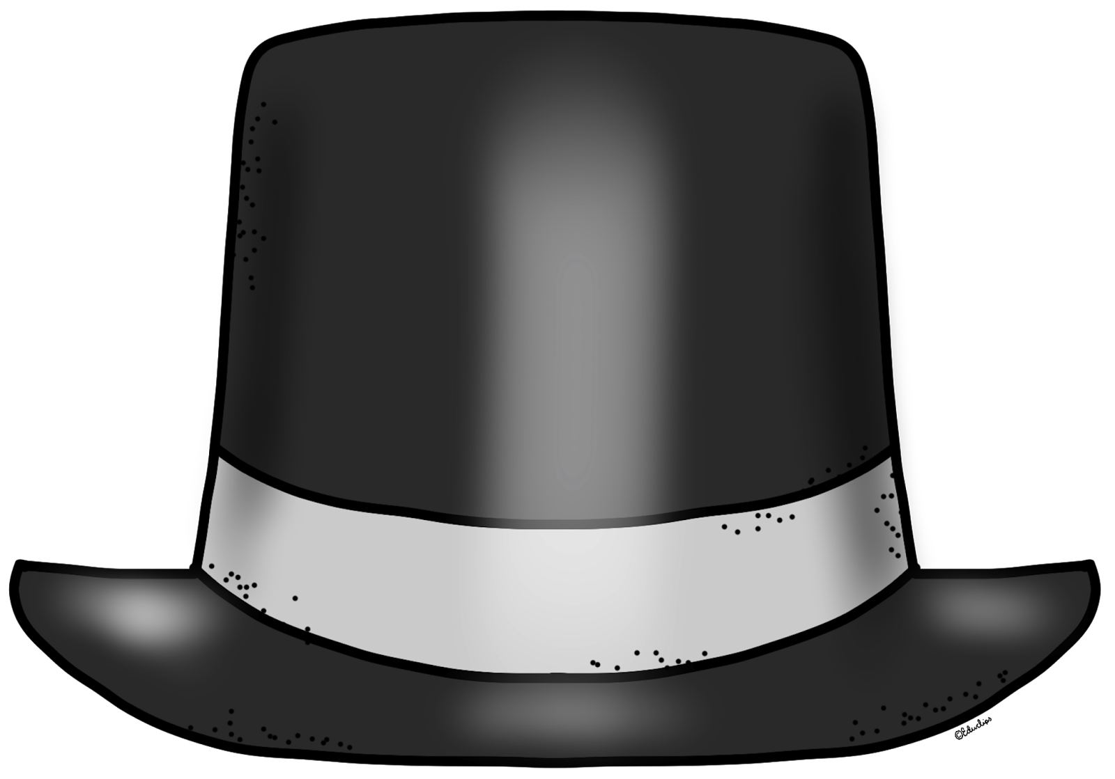 Snowman clipart hat Art Black Clip on Cliparts