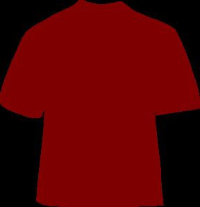 Maroon clipart tshirt Clip Art T vector online