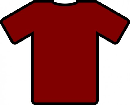 Maroon clipart tshirt Free T T Download
