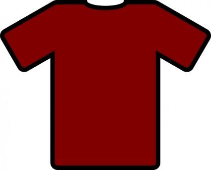 Maroon clipart tshirt On T Shirt shirt