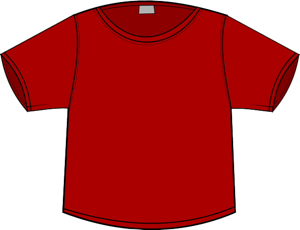 Maroon clipart tshirt Shirt free shirt clipart and