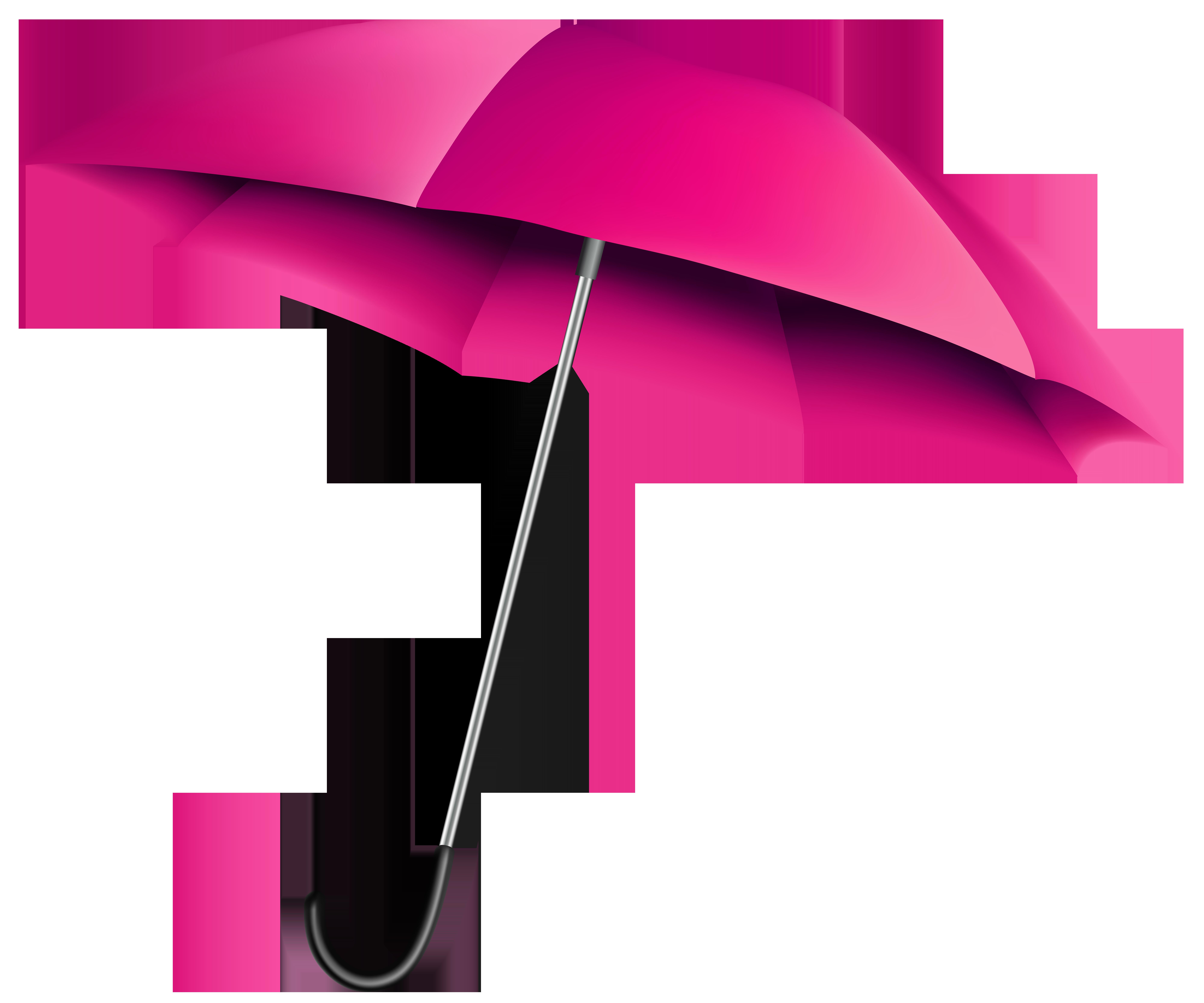 Umbrella clipart pink umbrella Size PNG Clip Transparent full