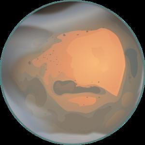 Mars clipart pluto planet Vector free com Mars Clip