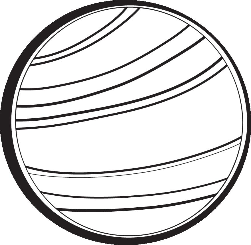 Mars clipart black and white On Carton Art Clipart Clip