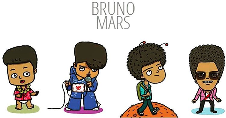 Mars clipart cute The he's on Bruno so