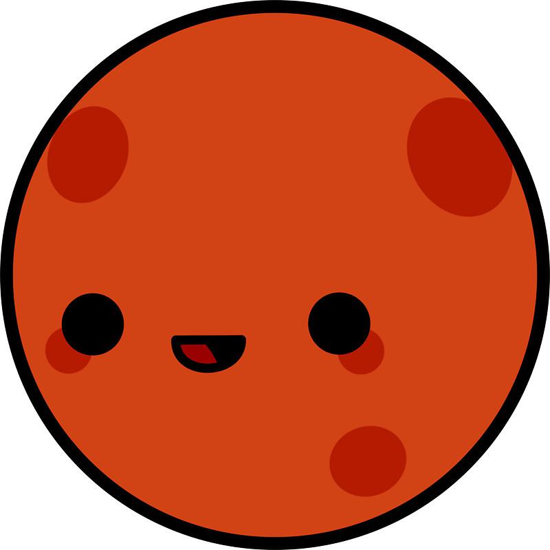 Mars clipart cute Stars Cute peppermintpopuk and peppermintpopuk