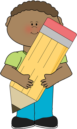 Child clipart pencil Holding Boy Education Holding
