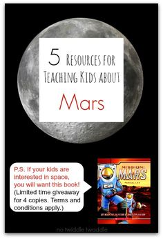 Mars clipart kindergarten science Time limited giveaway Mission Teaching