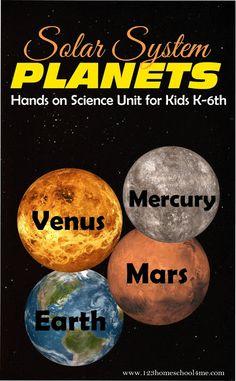 Mars clipart kindergarten science Mission On to More Venus
