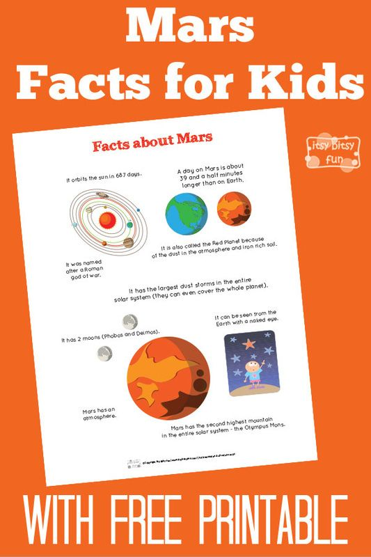 Mars clipart kindergarten science For Fun Mars about on