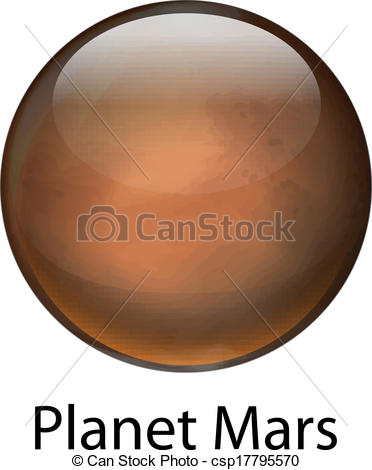 Mars clipart mars planet Of Planet planet Mars Illustration