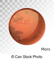 Mars clipart mars planet  Mars  with Mars