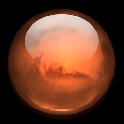 Mars clipart mars planet Format: Image IconBug ClipArt Mars