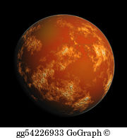 Mars clipart mars planet Of space mars red digital