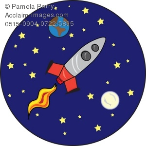 Moon clipart space #2