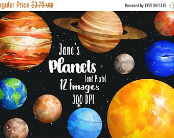 Mars clipart scince Science Watercolor Download Planets Download