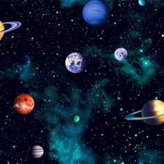 Planets clipart grey 668100 Arthouse Clip Science behang