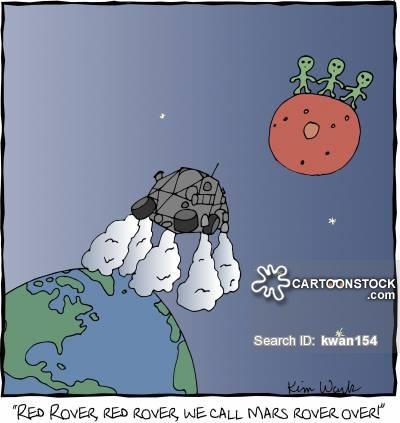 Mars clipart space travel Cartoons of cartoon Rover Rover