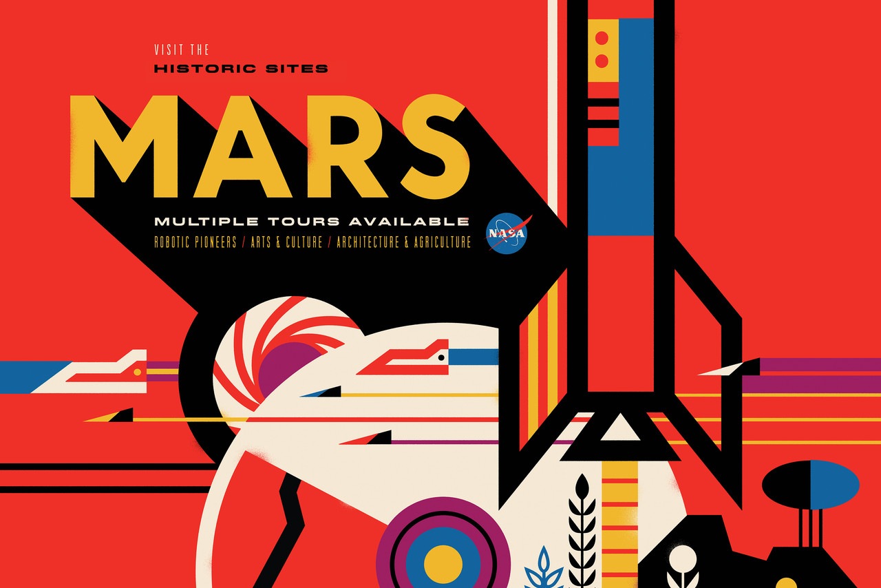 Mars clipart space travel Space new The posters new